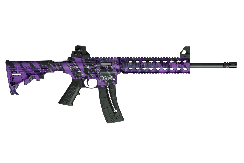 Smith & Wesson M&P15-22 Purple Platinum - 10041