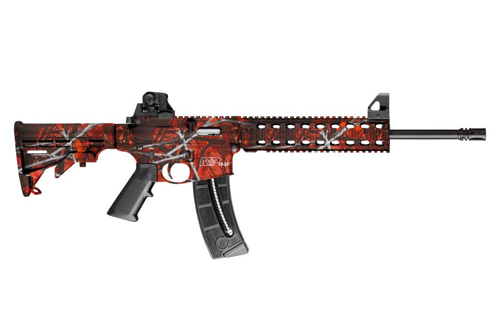 Smith & Wesson M&P15-22 Harvest Moon Orange - 10043