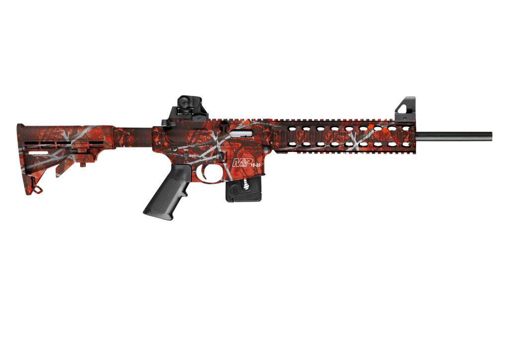 Smith & Wesson M&P15-22 Harvest Moon Orange Compliant - 10044