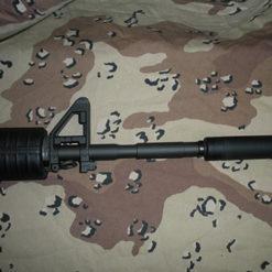 Short FAKE Suppressor for M&P 15-22 non-threaded - 4.5 Inches