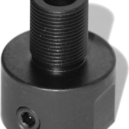 Smith & Wesson M&P15-22 Threaded Barrel Adapter for Non-Threaded Muzzles – Black
