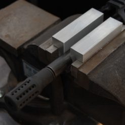 Barrel Vise Jaws for Rifle and Pistol Barrels