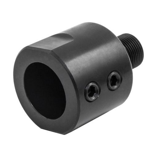 Non-Threaded Barrel Adapter - Back - Black