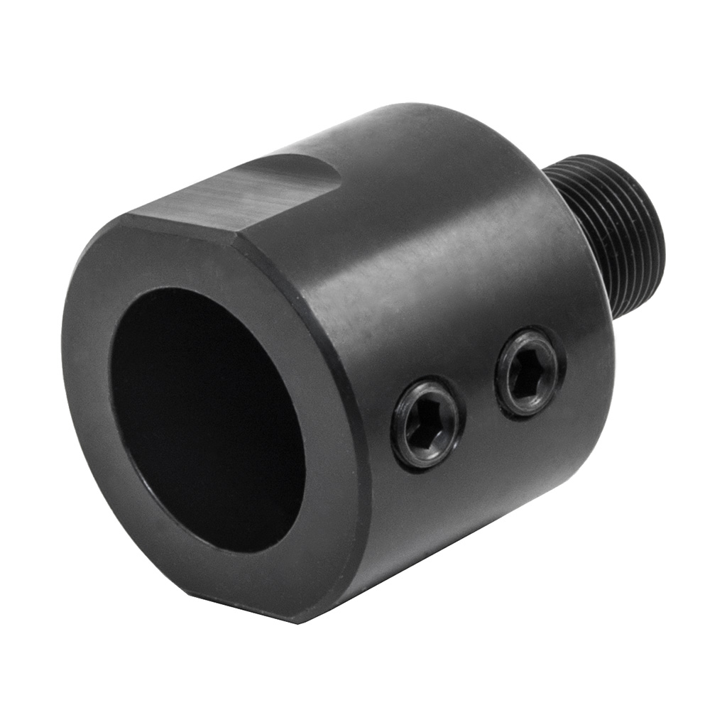 Barrel thread adapter for quot barrels black