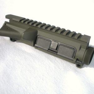 AR15 Upper Receiver - Assembled - O.D. Green Cerakote