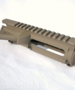 AR15 Upper Receiver - STRIPPED - FDE Cerakote