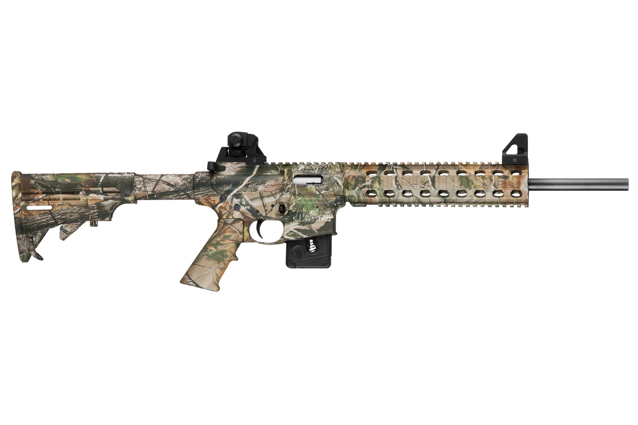 Smith wesson m p fixed stock realtree apg hd