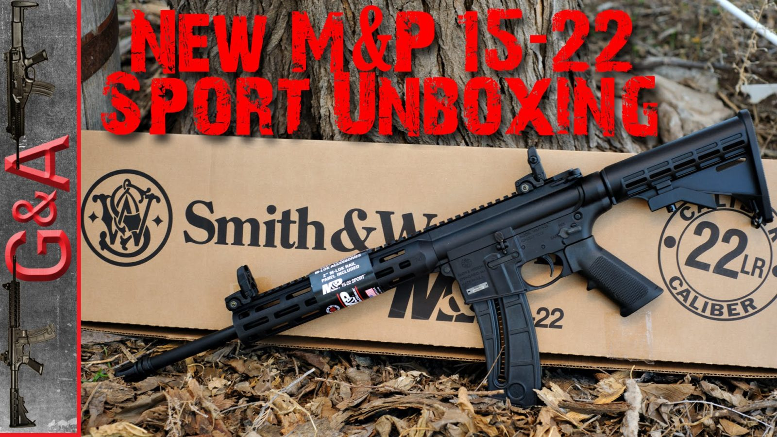 Smith And Wesson 12039 Unboxing: Unboxing The Smith & Wesson M&P15-22 Sport