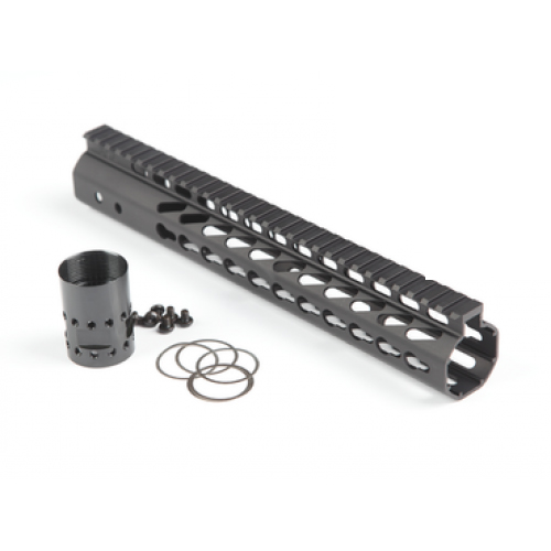 "GunTec AR .308 12"" KeyMod Free-Float Handguard (GT-12JK-308)"
