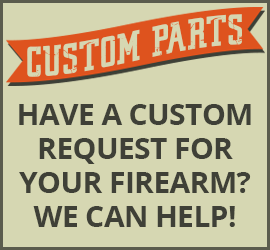 Custom Firearm Parts - Threaded Barrel Adapters, Muzzle Brakes, Barrel Shrouds, and More