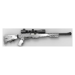 Tactical Marlin _ Glenfield Model 60 & 795 22 LR Stock - ArmaKote Top Hex Base Camp Camo