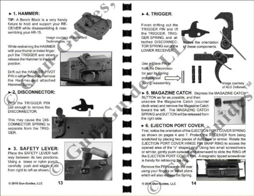 AR-15 Manual Page 13-14